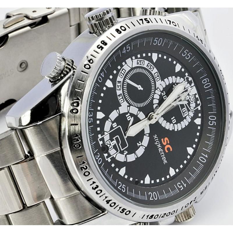 39,95 € Free Shipping   Watch Hidden Cameras Spy camera watch. Waterproof. High Definition 8 Gb 480P HD