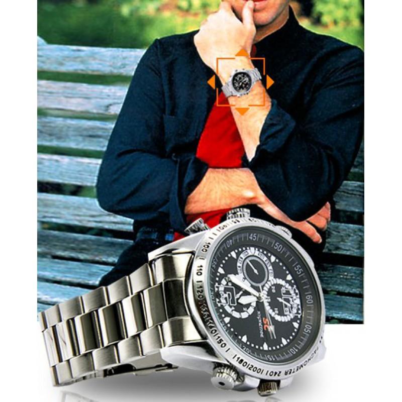 39,95 € Kostenloser Versand   Armbanduhren mit versteckten Kameras Spion Kamera zu sehen. Wasserdicht. Hochauflösend 8 Gb 480P HD