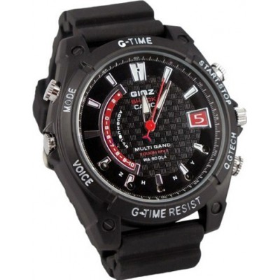 59,95 € Envio grátis | Relógios de Pulso Espiã Relógio de câmera espiã. À prova d'água. Câmera de visão noturna. Gravador de vídeo digital (DVR)