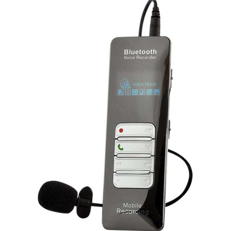 Signal Detectors Mobile phone sound voice recorder. Color display. Bluetooth 8 Gb