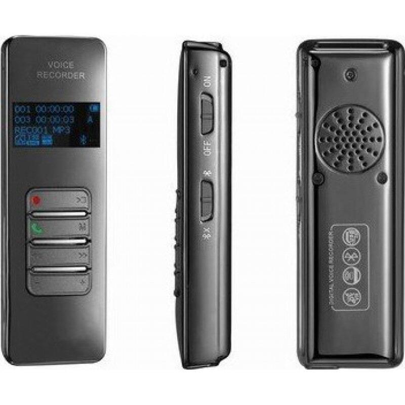 Détecteurs de Signal Enregistreur vocal de téléphone portable. Écran couleur. Bluetooth 8 Gb