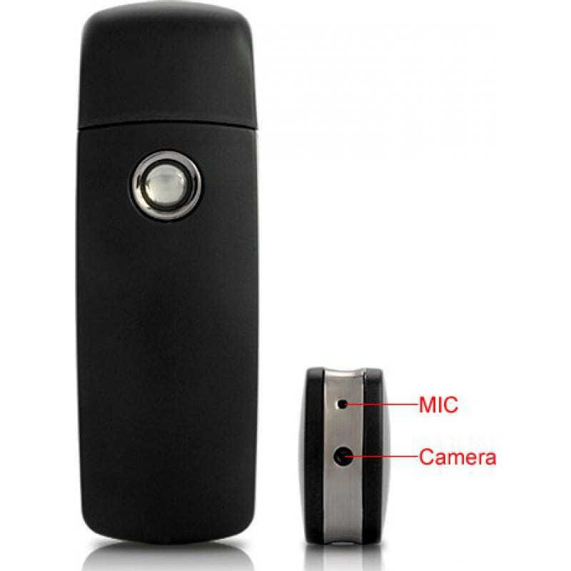 39,95 € Free Shipping   USB Drive Hidden Cameras USB Spy camera. Motion detection. Digital video recorder (DVR). Spy surveillance camera 8 Gb