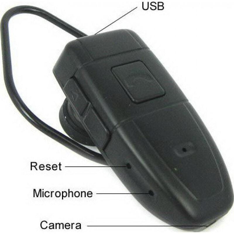 47,95 € Envoi gratuit | Autres Caméras Espion Écouteurs bluetooth espion. Ecouteur caméra cachée. Enregistreur vidéo numérique (DVR). Gadget de surveillance 8 Gb