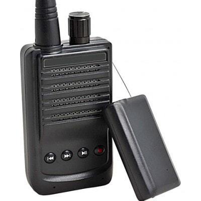 107,95 € Envío gratis | Detectores de Señal Micro grabadora inalámbrica de audio espía. Transmisor y receptor de voz. Ranura para tarjetas TF. Rango de 500 metros