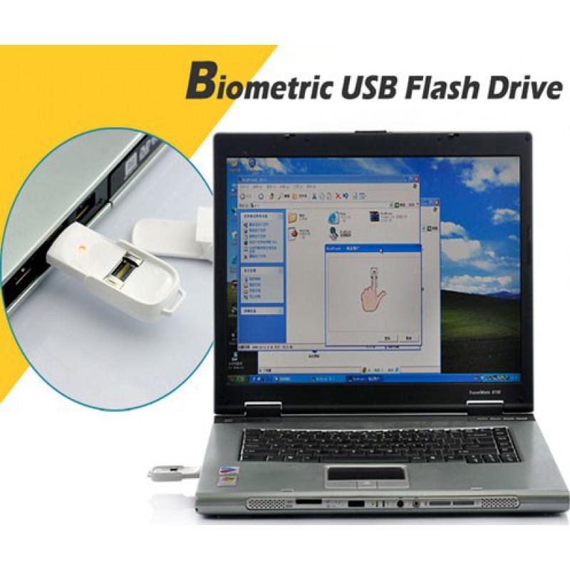 Hidden Spy Gadgets Biometric USB Flash drive. U key. Store up to 10 Fingerprint 8 Gb