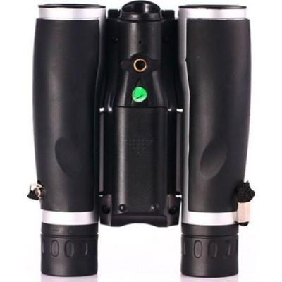 隐藏的间谍小工具 12x望远镜双筒望远镜。数码望远镜。 2英寸液晶屏。支持图片和视频录制 1080P Full HD