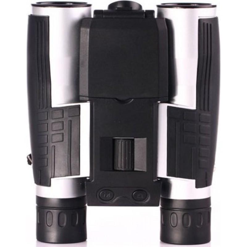 Gadgets Espion jumelles 12x pour télescope. Télescope numérique. Écran LCD 2 pouces. Prend en charge l'enregistrement photo et vidéo 1080P Full HD