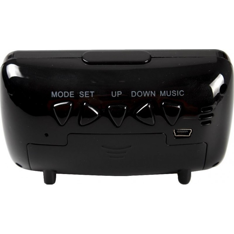 63,95 € Free Shipping   Clock Hidden Cameras Spy alarm clock. IR Infrared night vision. Hidden camera. Digital video recorder (DVR). Motion detection. Remote control (RC) 1080P Full HD