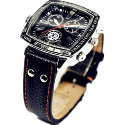 62,95 € Бесплатная доставка | Шпионские наручные часы Спортивные часы скрытой камеры. Водонепроницаемый. Шпионская охранная камера. Аудио / Видео рекордер. Мини Цифровой видеорегистр 8 Gb 1080P Full HD