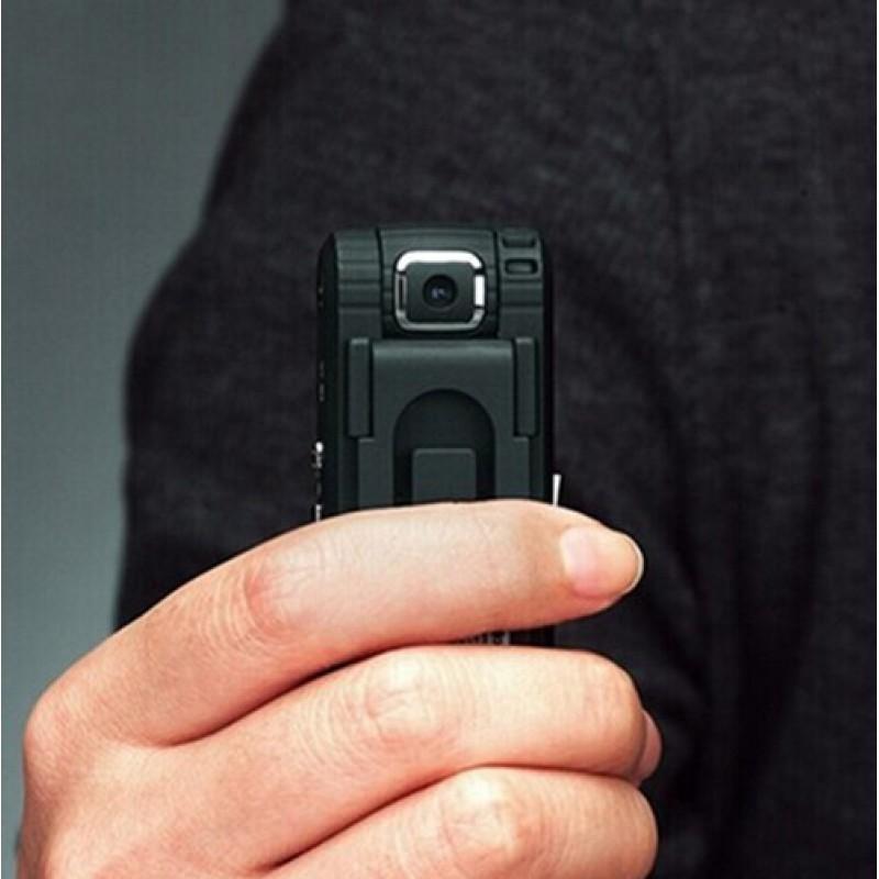 Autres Caméras Espion Clip en forme de caméra espion. Lentille rotative. Enregistreur vidéo numérique (DVR). Fonction enregistreur vocal 8 Gb 720P HD