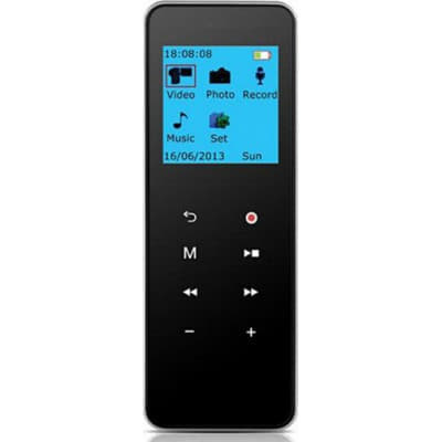 Design für kabelloses Laden. 3 in 1. Digital Voice Recorder. MP3-Player. Digitale Videoaufnahme (DVR). Bildaufnahmefunktion 8 Gb 720P HD