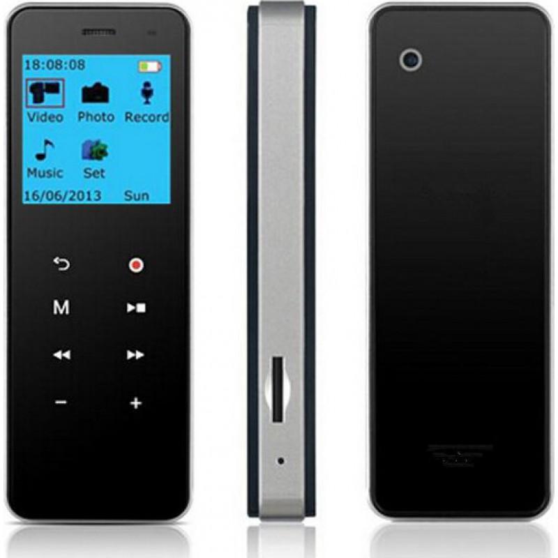 Signalmelder Design für kabelloses Laden. 3 in 1. Digital Voice Recorder. MP3-Player. Digitale Videoaufnahme (DVR). Bildaufnahmefunktion 8 Gb 720P HD