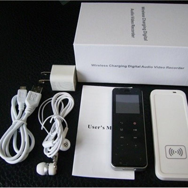 Detectores de Señal Diseño de carga inalámbrica. 3 en 1. Grabadora digital de voz. Reproductor mp3. Grabación digital (DVR). Función disparo imagen 8 Gb 720P HD
