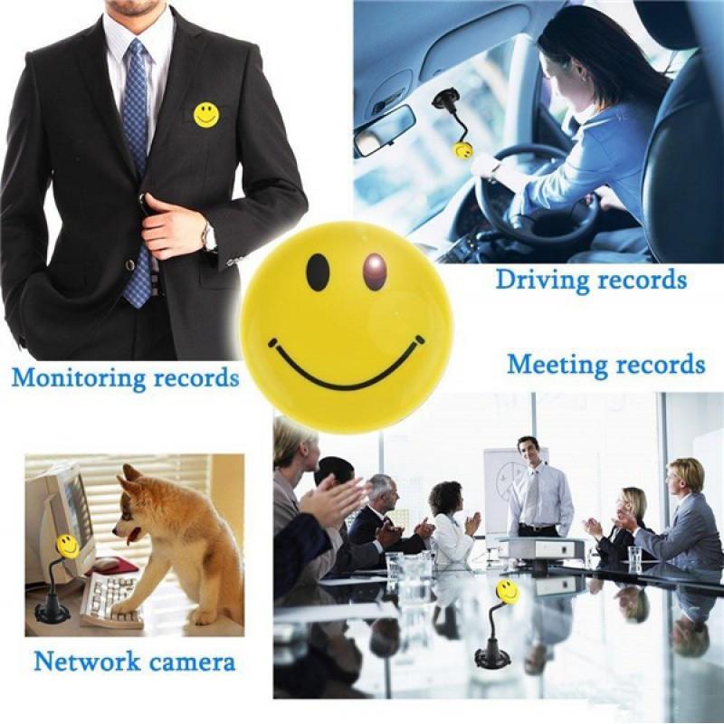 35,95 € Free Shipping | Other Hidden Cameras Smile face spy camera. Mini hidden digital video recorder (DVR) 720P HD