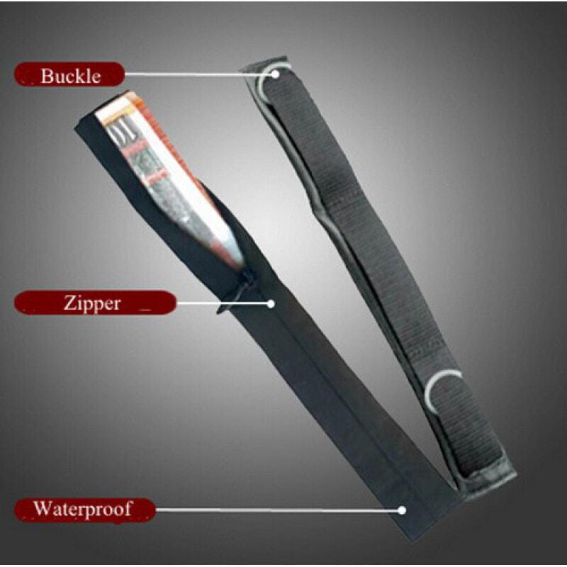 Gadgets Espion Portefeuille caché de sécurité pour ceinture