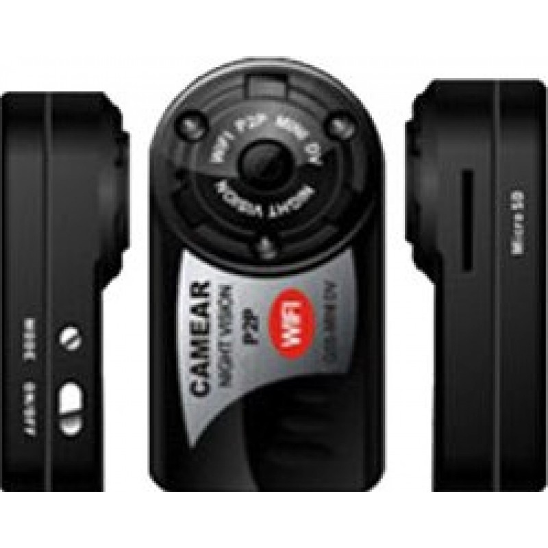 37,95 € Free Shipping | Other Hidden Cameras Mini spy camera. Digital video recorder (DVR). Hidden camcorder. IR Night vision. Sport DV. Wireless/WiFi/IP/Web. 5 LED. Motion 480P HD