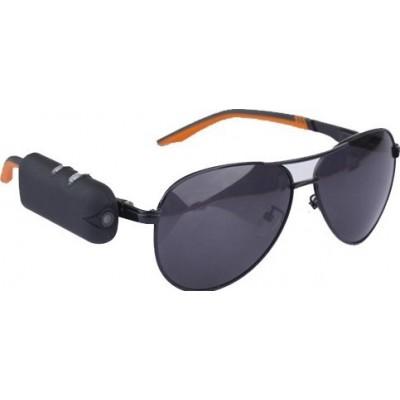 48,95 € Kostenloser Versand | Brillen mit verstecktern Kameras Tragbare Sonnenbrille mit versteckter Kamera. Spionage-Kamera. Digitaler Videorecorder (DVR) 720P HD