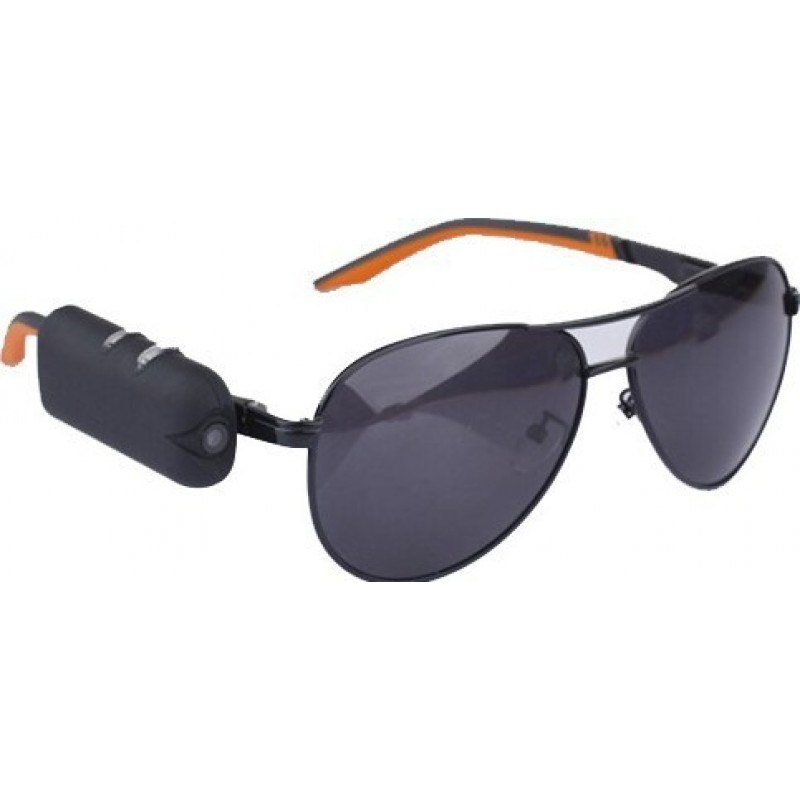 48,95 € Free Shipping | Glasses Hidden Cameras Wearable hidden camera sunglasses. Spy camera. Digital video recorder (DVR) 720P HD