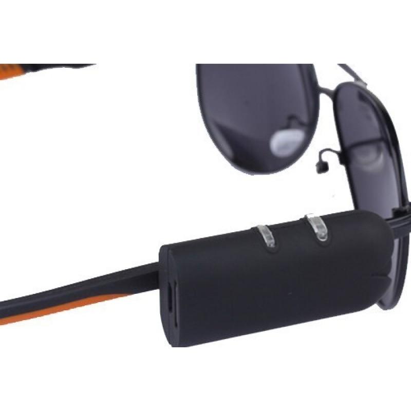 48,95 € Kostenloser Versand   Brillen mit verstecktern Kameras Tragbare Sonnenbrille mit versteckter Kamera. Spionage-Kamera. Digitaler Videorecorder (DVR) 720P HD