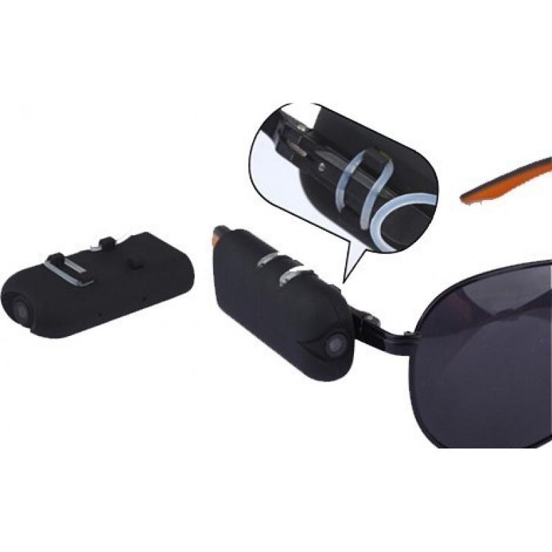 48,95 € Envoi gratuit | Lunettes Espion Lunettes de soleil caméra cachée portables. Caméra espion. Enregistreur vidéo numérique (DVR) 720P HD