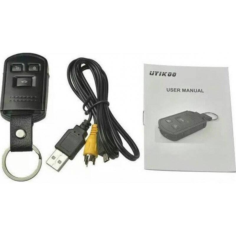 54,95 € Бесплатная доставка   Шпионские ключи Ключ от машины в форме пульта. Мини шпионская камера. DVR Цифровая видеозапись. Определение движения. ИК инфракрасное ночное вид 1080P Full HD