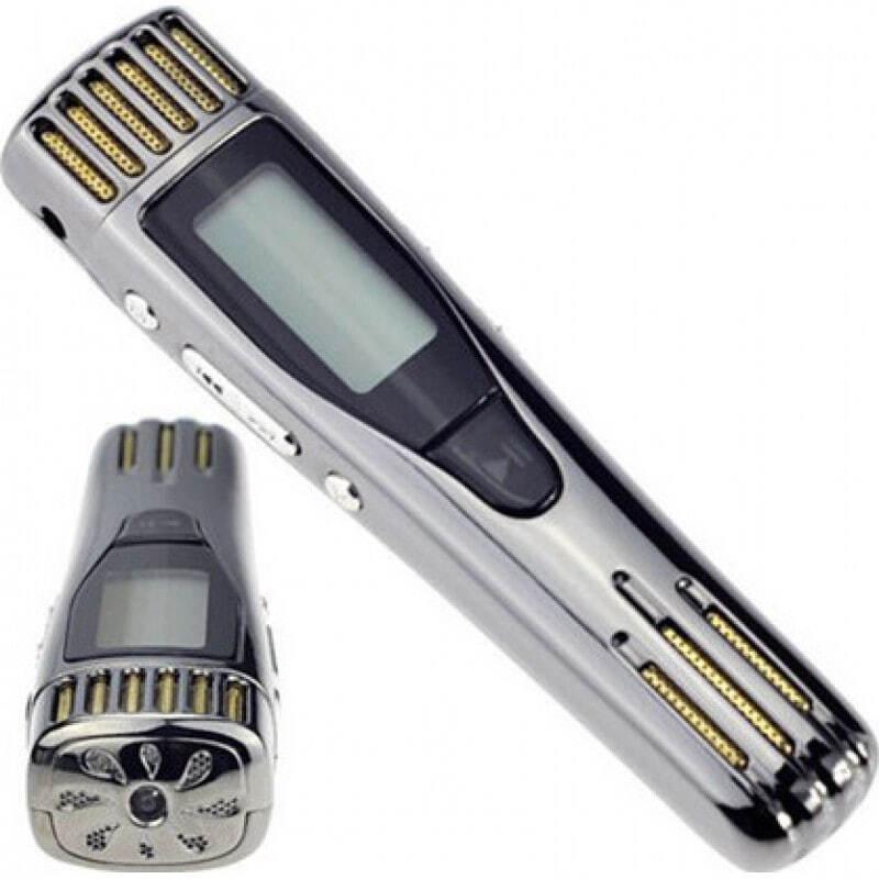Detectores de Sinal Mini gravador de voz. Função de detecção de dinheiro 32 Gb