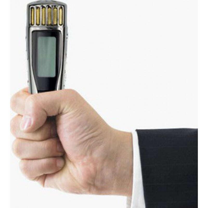 Détecteurs de Signal Mini enregistreur vocal. Fonction de détection de l'argent 32 Gb