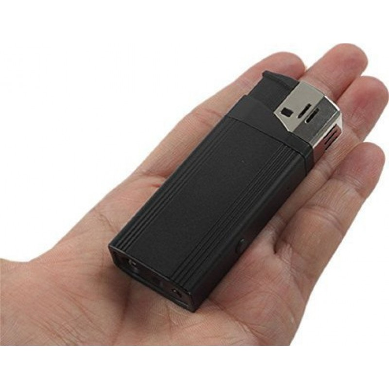 39,95 € Free Shipping | Other Hidden Cameras Spy lighter Camera. Hidden digital video recorder (DVR). Real lighter function. Flashlight function. U disk 1080P Full HD