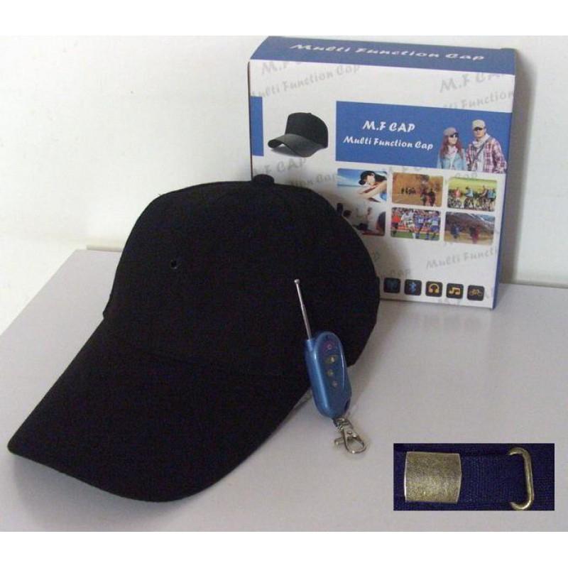 64,95 € Envoi gratuit | Autres Caméras Espion Caméra chapeau espion. Version 3 en 1. Caméra cachée. MP3. Bluetooth 1080P Full HD