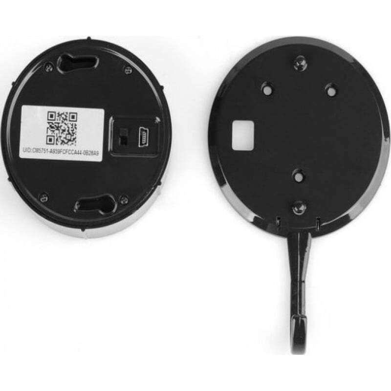 66,95 € Envio grátis | Outras Câmeras Espiã Câmera escondida do gancho do espião. Monitoramento remoto. Aplicativo para Android / IOS. Detector de movimento 1080P Full HD