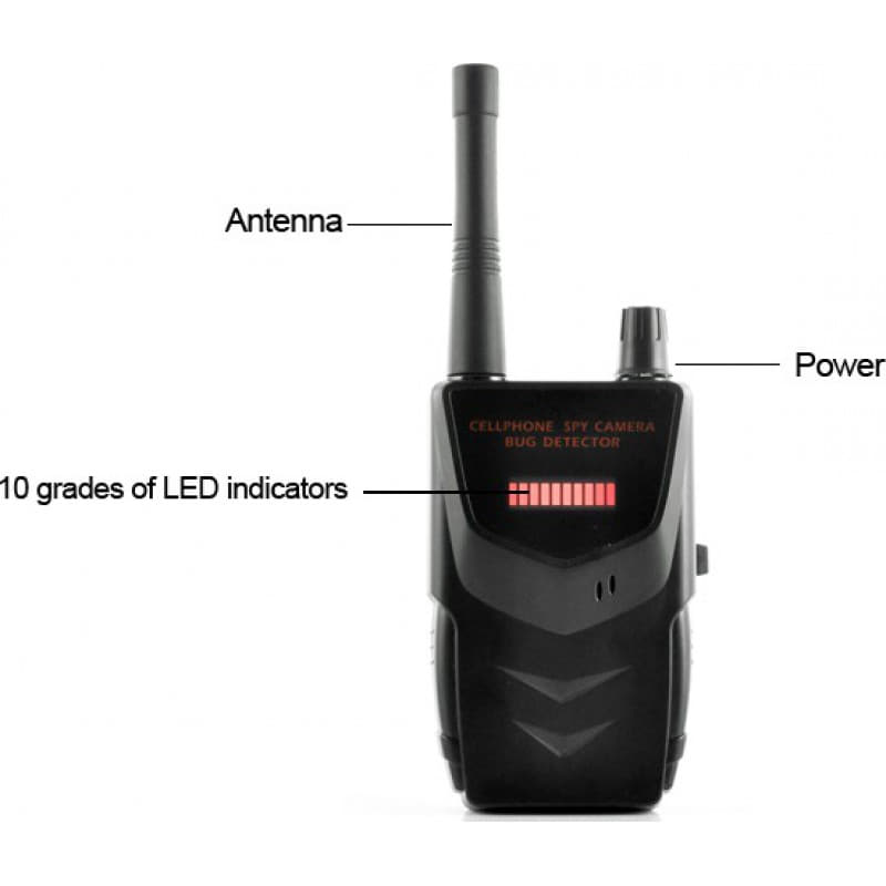 Signal Detectors Portable wireless anti-spy detector. Hidden camera detector. Spy audio detector
