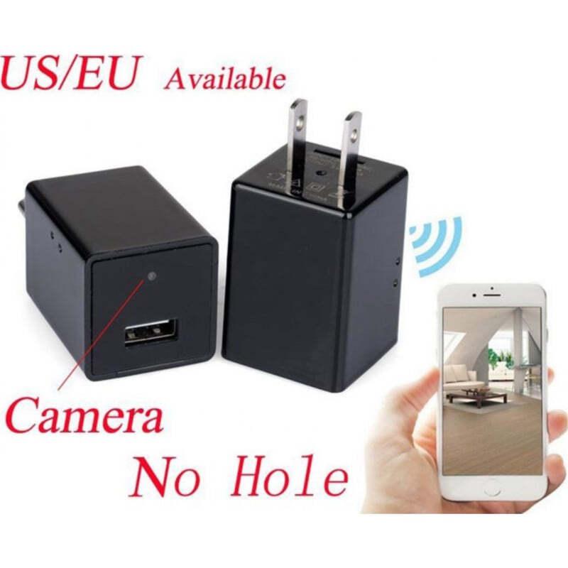 49,95 € Envío gratis   Otras Cámaras Ocultas Cámara espía con forma de cargador. Enchufe de EE. UU. / UE. Wifi. Cámara oculta 1080P Full HD