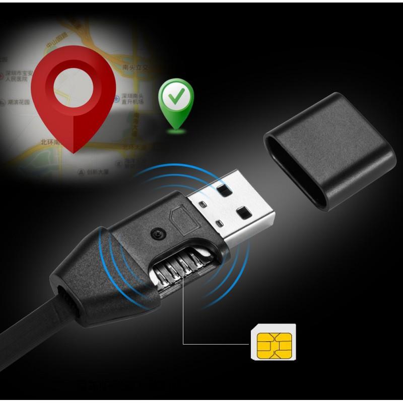 39,95 € Бесплатная доставка   Сигнальные USB-кабель трекер. GPS-трекер. Настоящий зарядный кабель. Реальный кабель для передачи данных