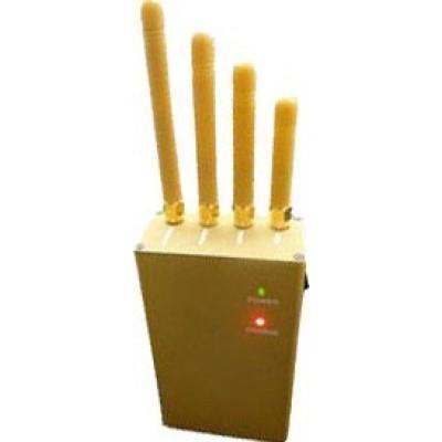 3W Handheld-Signalblocker. Ausgangsleistung. 4 Antennen GPS