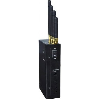 4 группы. 4W Портативный блокатор сигналов GPS