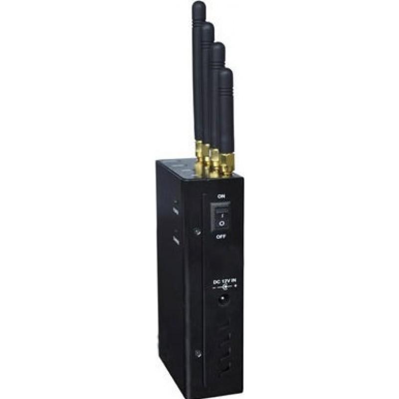 62,95 € Бесплатная доставка | Блокаторы мобильных телефонов 4 группы. 4W Портативный блокатор сигналов GPS 3G Portable