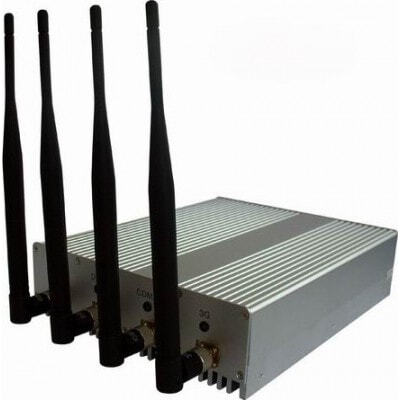 4 Antennas signal blocker with remote control Cell phone