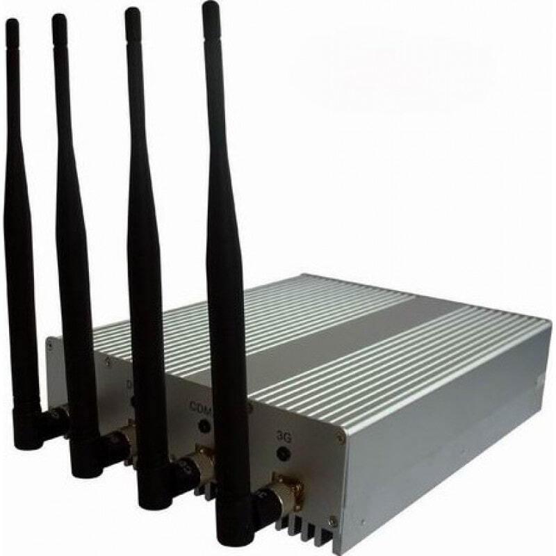 79,95 € Kostenloser Versand | Handy-Störsender 4 Antennensignalblocker mit Fernbedienung Cell phone
