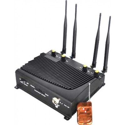 4 Bands. Adjustable desktop signal blocker with remote control Cell phone