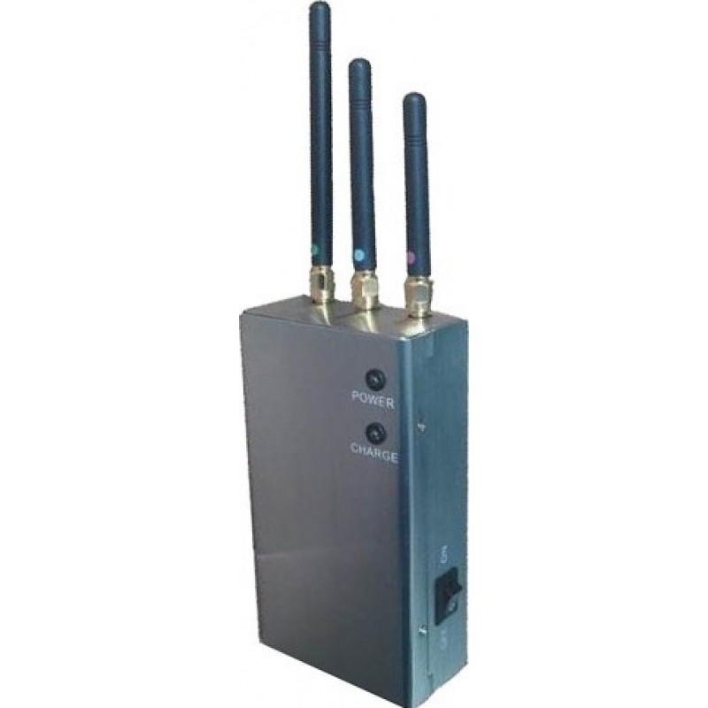 47,95 € Envoi gratuit | Bloqueurs de Téléphones Mobiles 5 bandes. Bloqueur de signal portable Cell phone Portable