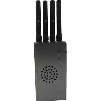 Tragbarer Hochleistungs-Signalblocker mit Lüfter Cell phone