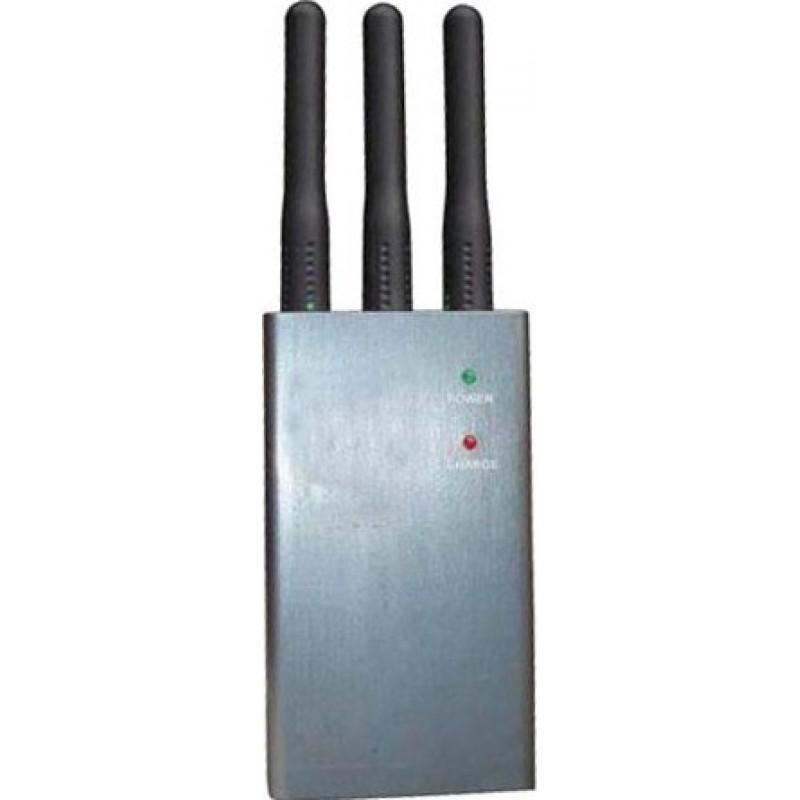 47,95 € Kostenloser Versand | Handy-Störsender Mini tragbarer Signalblocker Cell phone GSM Portable