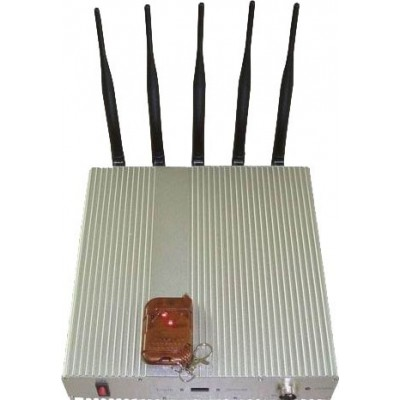 5 Bands. Signal blocker with remote control GPS