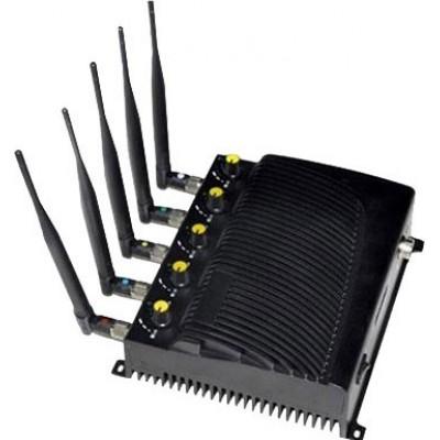 Bloqueur de signal ajustable avec télécommande Cell phone