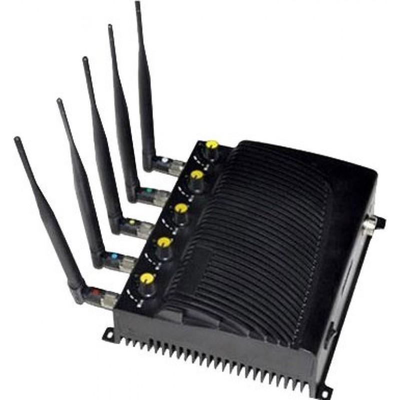 95,95 € Бесплатная доставка | Блокаторы мобильных телефонов Регулируемый блокатор сигналов с дистанционным управлением Cell phone CDMA