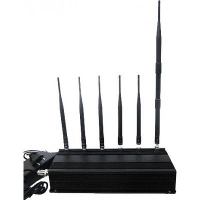 6 antenas bloqueador de sinal Cell phone