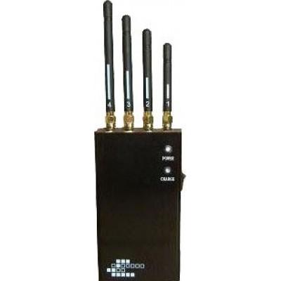 5 полос. Портативный беспроводной блокиратор сигналов Cell phone