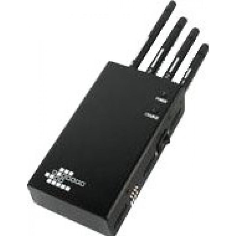 62,95 € Kostenloser Versand | Handy-Störsender 5 Bänder. Mobiler drahtloser Signalblocker Cell phone Portable