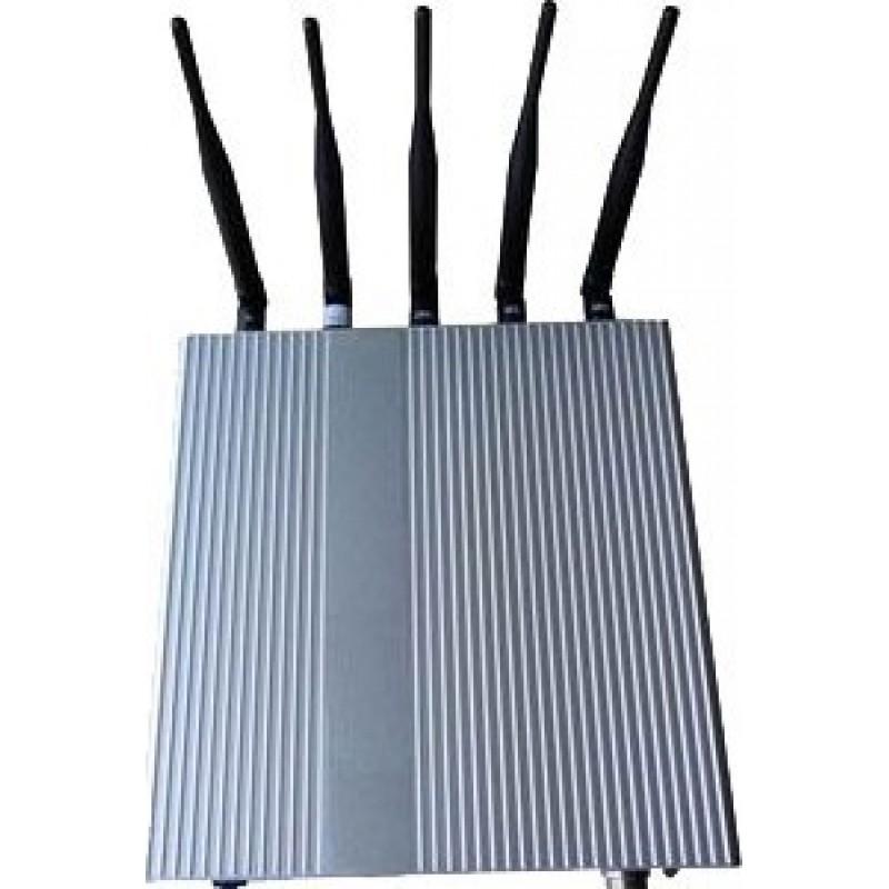 87,95 € Kostenloser Versand   Handy-Störsender 5 Signalblocker für Antennen Cell phone GSM