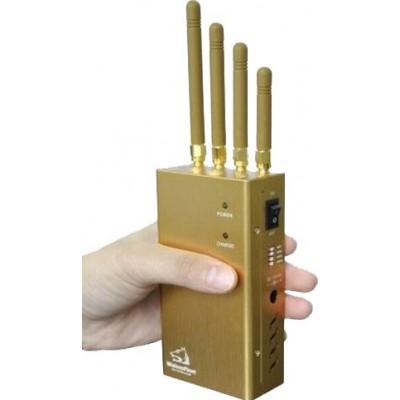 73,95 € Бесплатная доставка | Блокаторы мобильных телефонов Ручной блокиратор сигналов с переключателем GPS GPS L1 Handheld